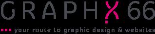 Het logo van GRAPHX 66