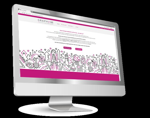 handige handleiding voor het aanpassen van je GRAPHX 66 wordpress website
